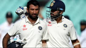 IND v ENG 4th Test Day 2:  Vijay, Pujara lead India's strong  reply